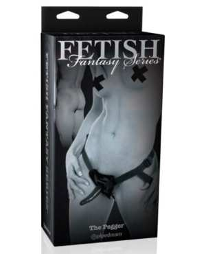 Fetish Fantasy Limited Edition The Pegger w/Straps - Black