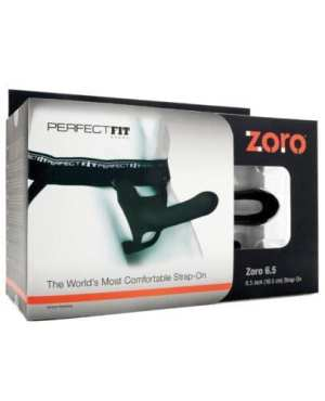 "Perfect Fit Zoro 6.5"" Strap-On - Black"
