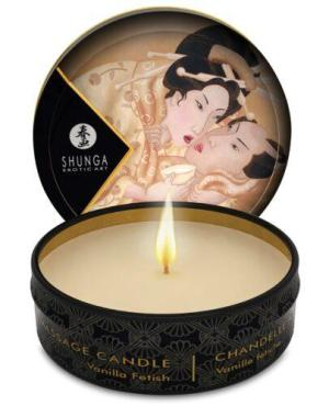 Shunga Desire Mini Candlelight Massage Candle - 1 oz Vanilla