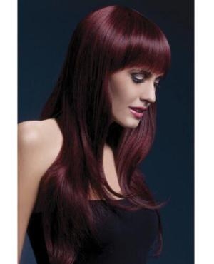 Smiffy The Fever Wig Collection Sienna - Black Cherry
