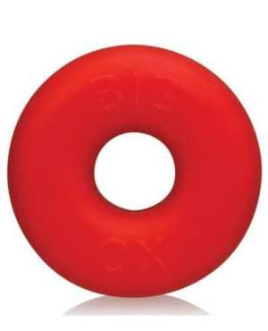 Oxballs Big Ox Cockring - Red Ice