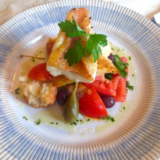 Snapper with Aeolian salad