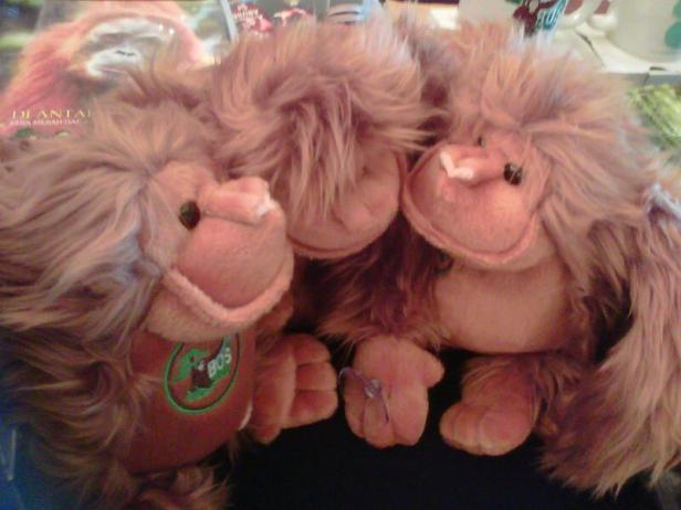 Boneka Orangutan BOSF
