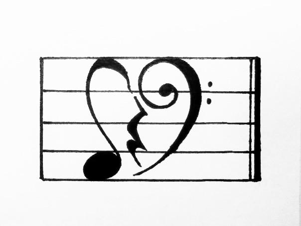 Music Nerd's Broken Heart by melodyjazzzer
