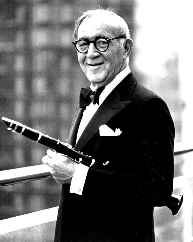 Benny Goodman circa 1970