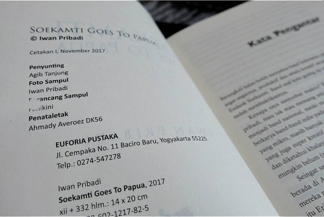 Mungkin Tak Ada di Buku SOEKAMTI GOES TO PAPUA #8: Menulis Buku Perjalanan