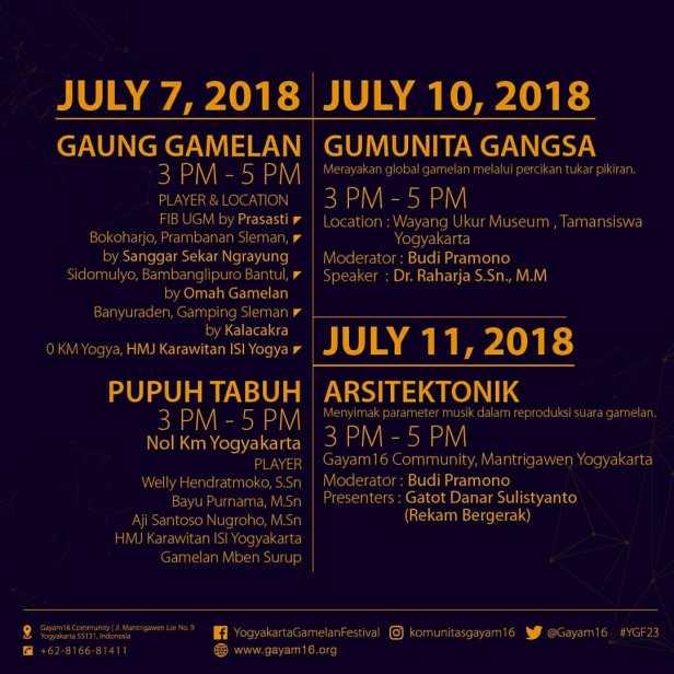 Agenda Yogyakarta Gamelan Festival 2018