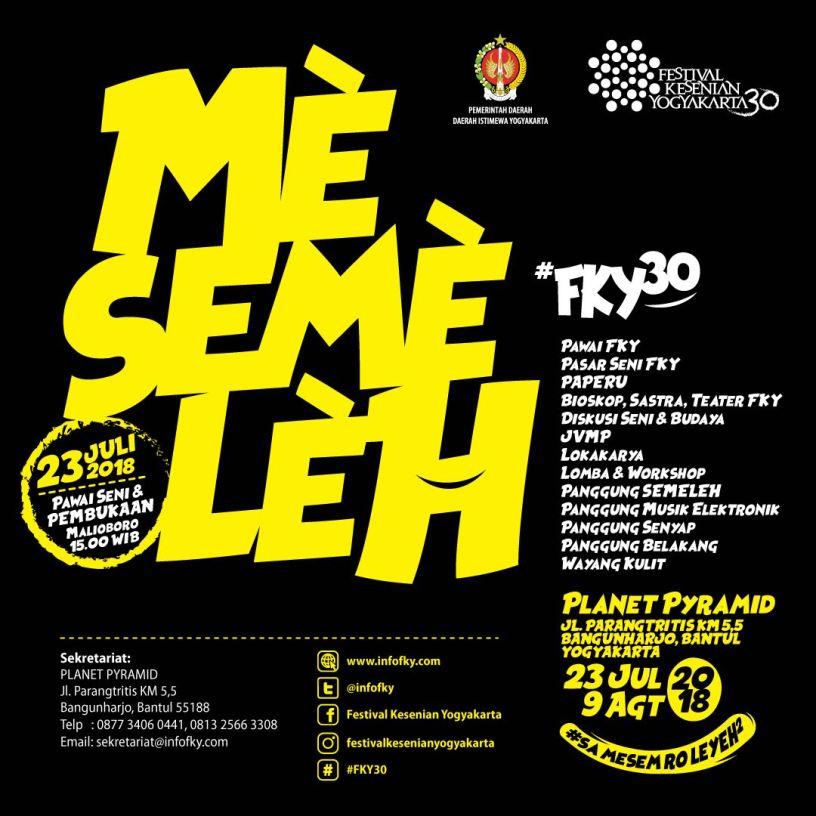 FKY 30 Mesemeleh Yogyakarta