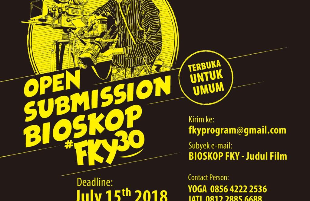 Open Submission Bioskop Festival Kesenian Yogyakarta 2018