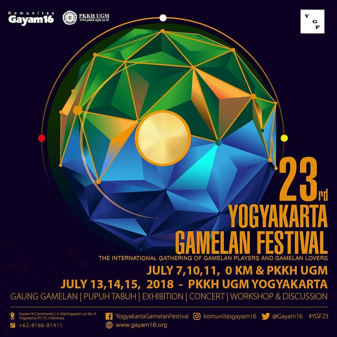 Pameran Yogyakarta Gamelan Festival 2018 Digelar di PKKH UGM