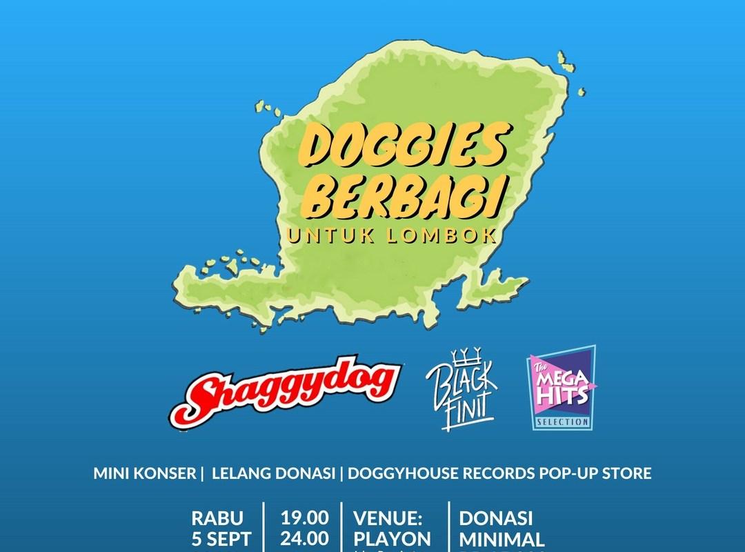 Doggies Berbagi untuk Lombok Malam Ini di Playon