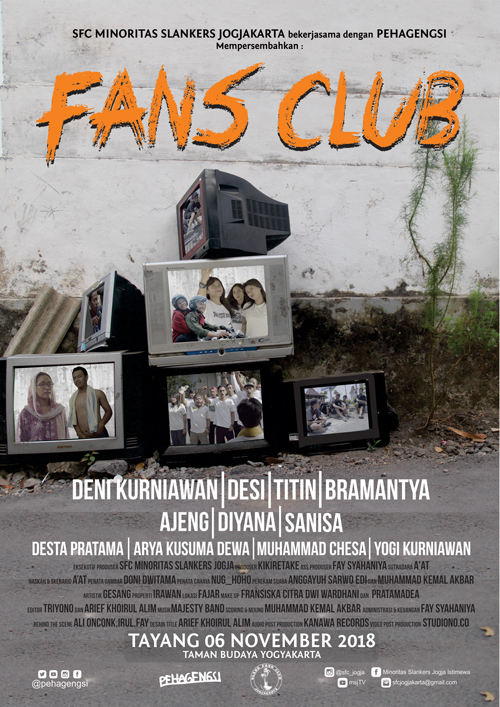 Poster Film FANS CLUB
