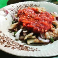Beberuk Terong, makanan khas Lombok