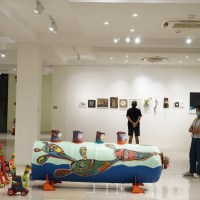 Pameran Seni Rupa 'Akar Hening di Tengah Bising' FKY 2020