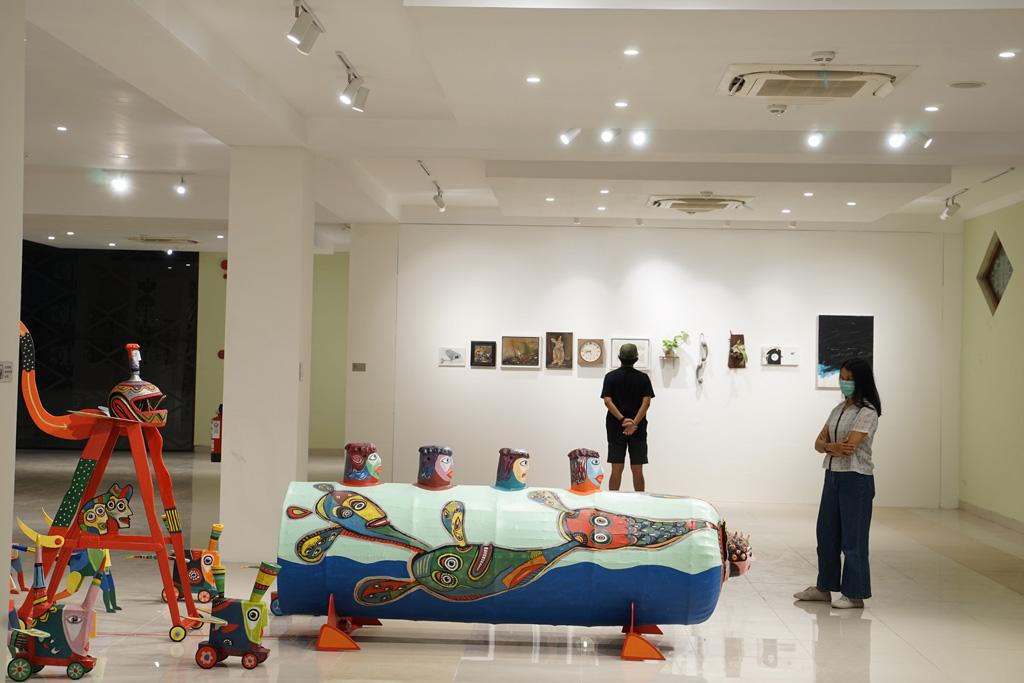 Pameran Seni Rupa Akar Hening di Tengah Bising FKY 2020