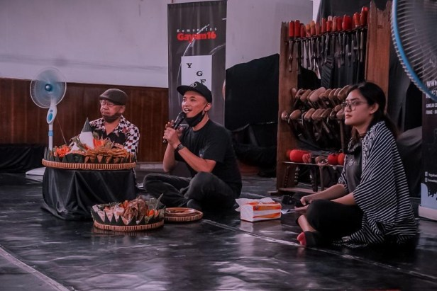 Ishari Sahida aka. Ari Wulu - Project Director Yogyakarta Gamelan Festival (YGF)