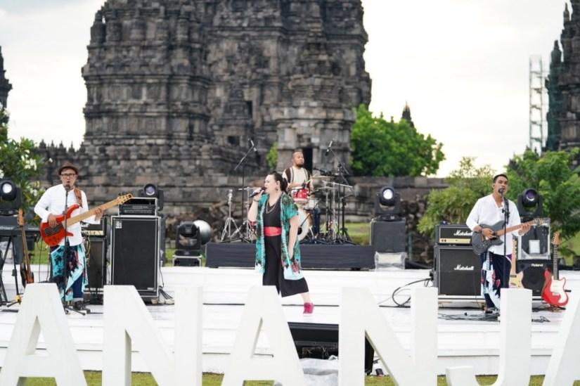 TheEverydayBand di Hari Kedua Prambanan Jazz Festival 2020