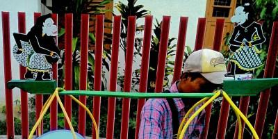 Asal-usul Semar dan Gareng di gerobak penjual Dawet Ayu