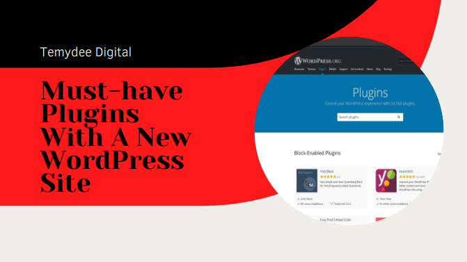 must-have plugins with a new wordpress site