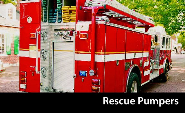 Pierce Rescue Pumpers