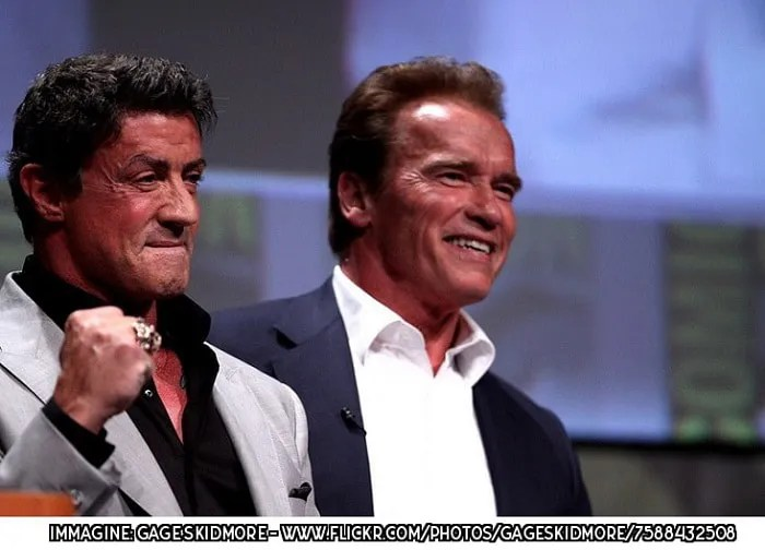 Arnold Schwarzenegger, Sylvester Stallone, cinema, Hollywood, Creed, reboot, Terminator, Rambo, Rocky balboa, film, Natale, Stallone, star, Instagram, Predator