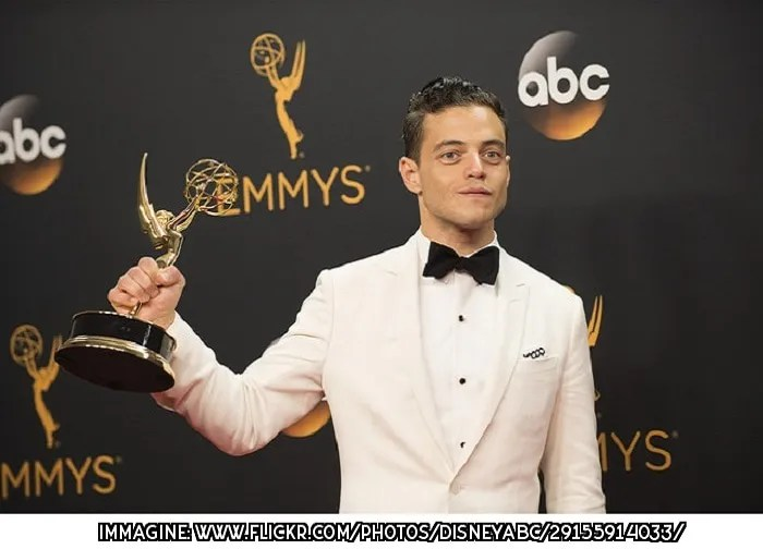 Bohemian Rhapsody, Rami Malek, Lucy Boynton, Freddie Mercury, Queen, Mary Austin, Hollywood, cinema, Golden Globes 2019, star, film, gossip, U2, fan, leader