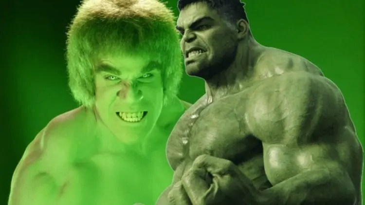 Lou Ferrigno, Hulk, Mark Ruffalo, attori, cinema, serie, serie TV, film avengers, Marvel Cinematic Universe, marvel film, Marvel Studios, fan, hollywood,mcu