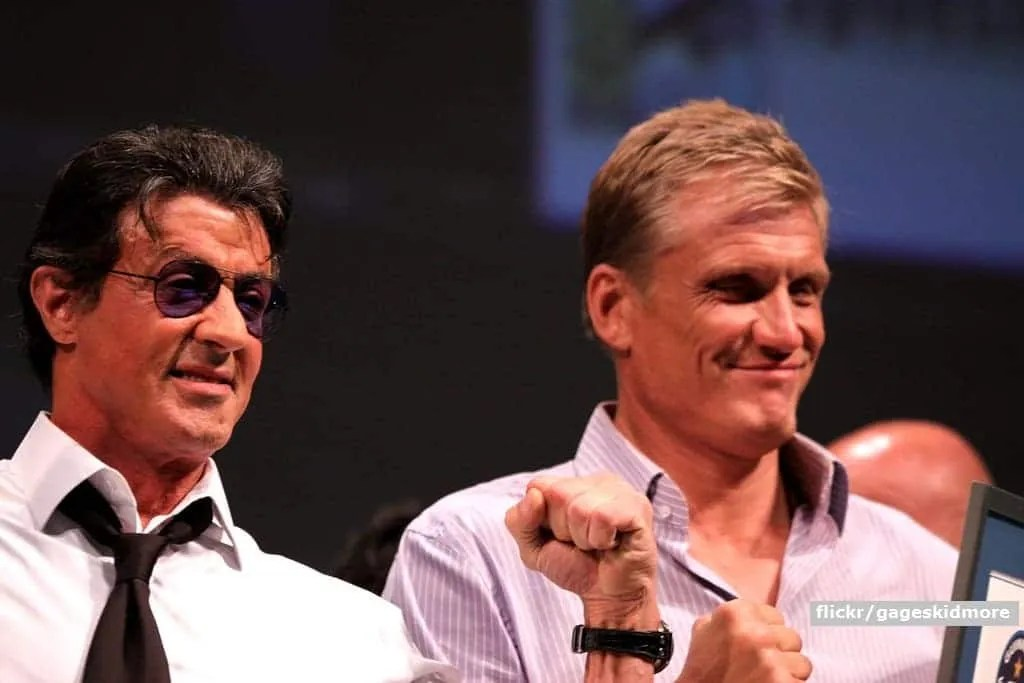 Sylvester Stallone, Dolph Lundgren, action movie, azione, reunion, Rocky, sylvester stallone, team, The Expendables, Netflix, Apple, action drama, serie TV