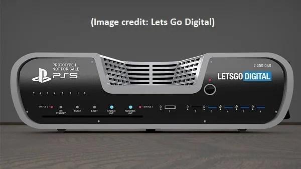 PS5 immagini renderdev Kit Sony