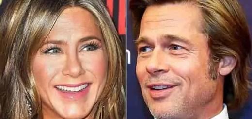 Festa 2019 Natale Brad Pitt Jennifer Aniston insieme