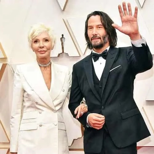 Keanu Reeves Patricia Taylor red carpet Oscar