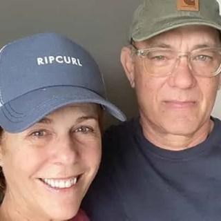 Aggiornamento condizioni salute Tom Hanks moglie Rita Wilson