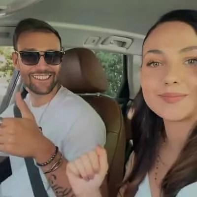 social media report rosalinda e andrea parlano di calcio video