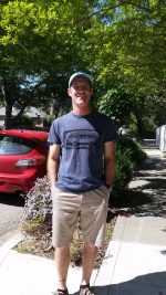 Man in Vanagon Shirt