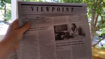 Were in the local paper!