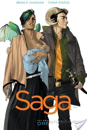 Saga #1 by Brian K. Vaughan (Writer), Fiona Staples (Artist)