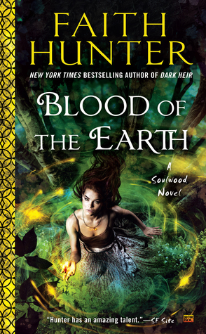 Audiobook Review: Blood of the Earth by Faith Hunter