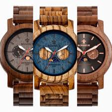 100% Canadian custom wood watches from Bonheur