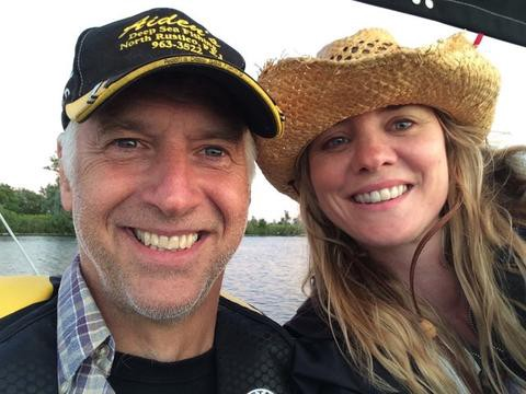 Erin Dowse and Her Husband Winston Abernethy, owners of Mado's scotch bonnet hot sauce