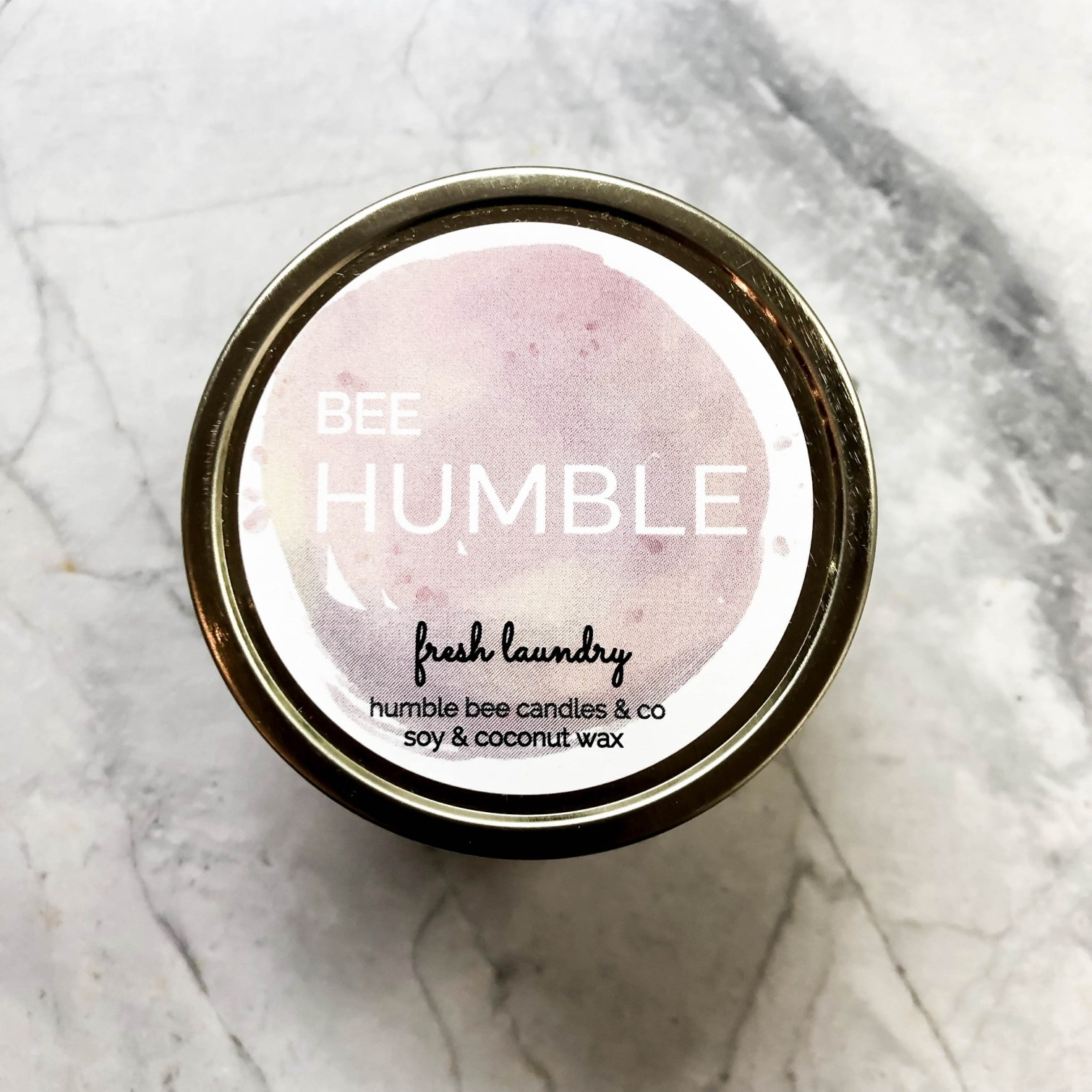 Humble bee fresh laundry candles