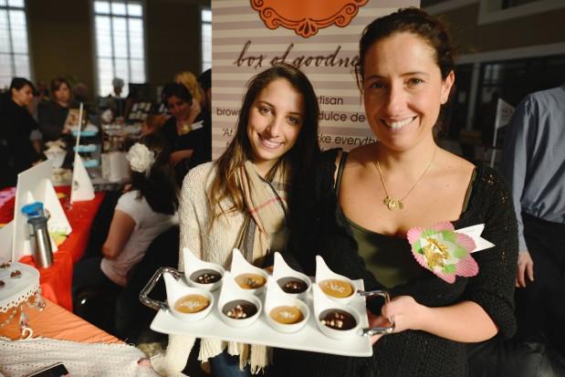 The chocolate maker herself, Carolina