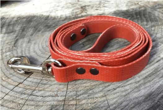 Firefighter hose dog leash