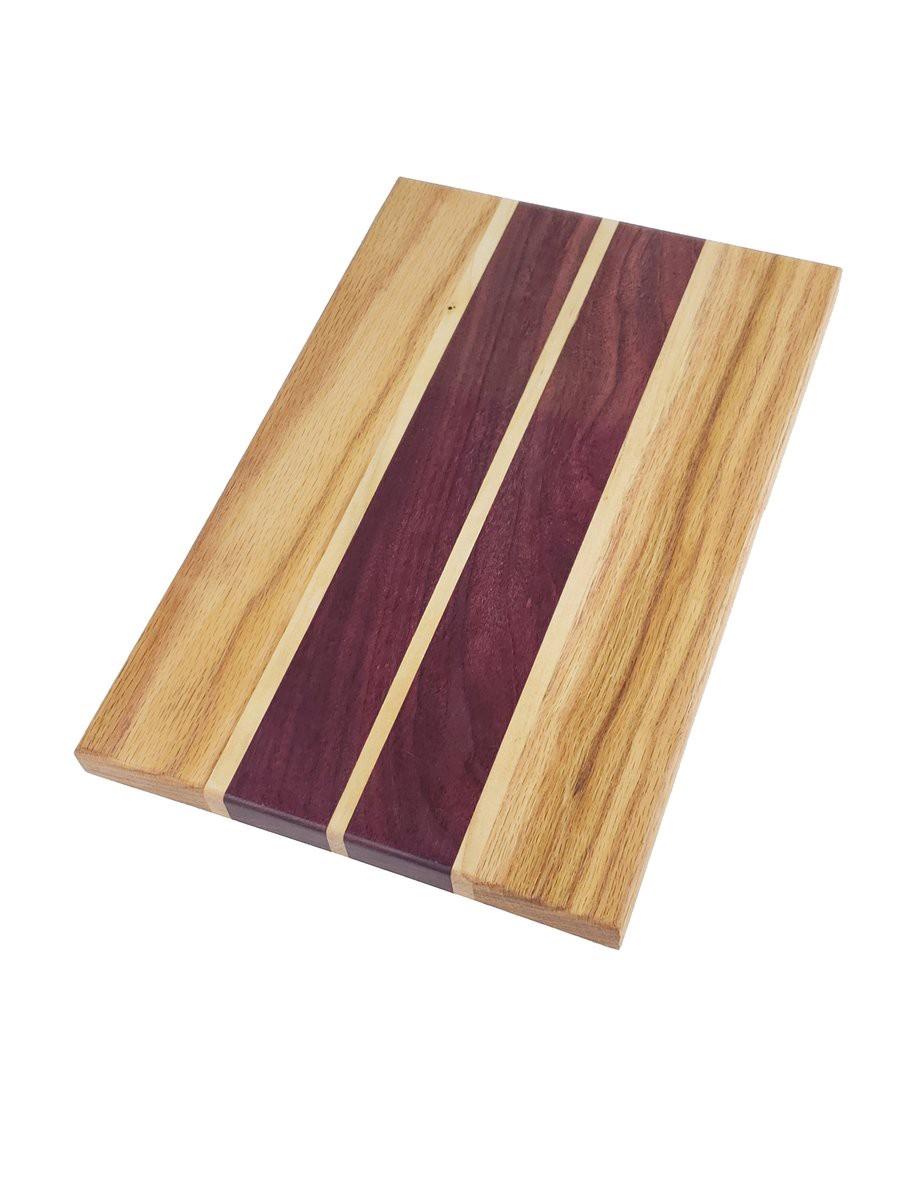 Purple heart oak cutting boards