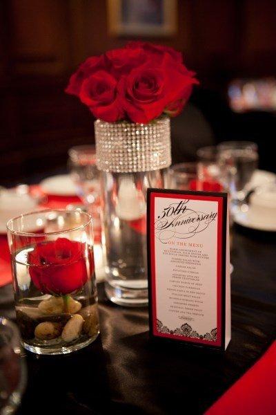 Mariage rouge dcoration et accessoires tendance  Tendance Boutik