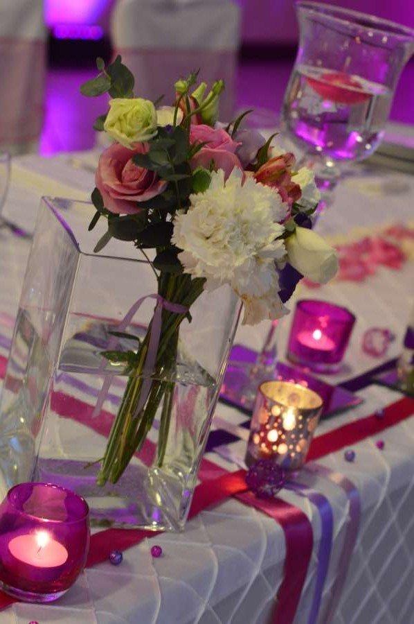 Mariage Fushia Violet Blanc Tendance Boutik