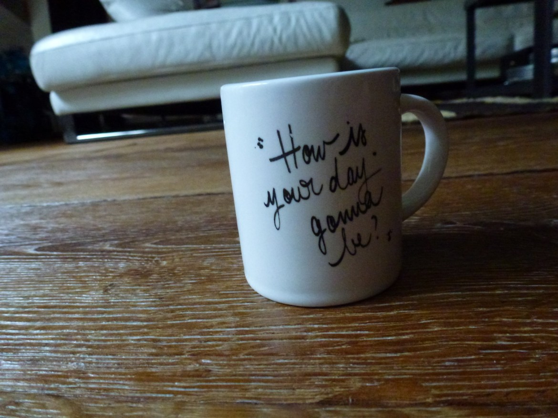 Une tasse à café trop chou :3