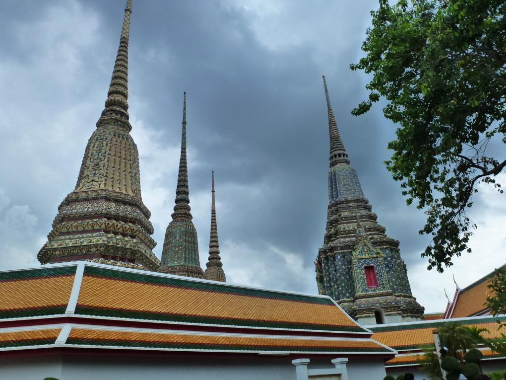 Wat Pho: le bouddha couché