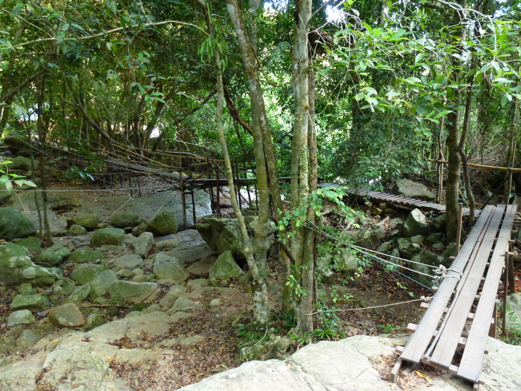 Hua Thanon et cascade