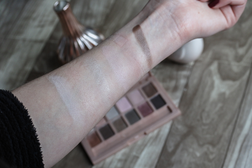 Palette The Blushed Nudes Gemey Maybelline