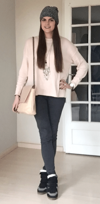 look pull rose tendance clemence 7